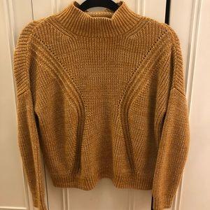 Topshop Textured Turtleneck Sweater